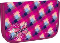 4c7c0c600e5 Stil Školní penál jednopatrový Butterfly