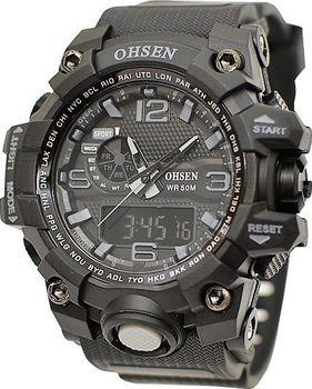 Pánské hodinky Ohsen AD-1606 jsou sportovní s PU řemínkem a kovovou sponou.  Hodinky jsou lehké 727f50ceed