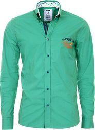pánská košile Pontto 8005-03 zelená 3XL 4c5d2913a8