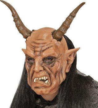 Widmann gumová maska čerta s parukou od 457 Kč (100%) • Zboží.cz 2cd2f5f380