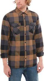 a1b864a425c pánská košile VANS Box Flannel Dirt Black