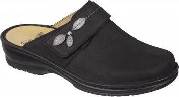 8c0b25ae64a Scholl MIRELLA černá domácí obuv EU