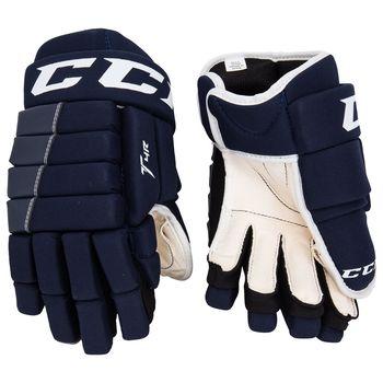a485a3419 Juniorské hokejové rukavice CCM Tacks 4R Junior nejlépe využijí začínající  a pokročilí hobby hokejisté. Na ledě oceníte hlavně jejich lehkou  konstrukcí a ...