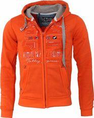 f556db5c25 pánská mikina Geographical Norway Folduc Men 100 oranžová