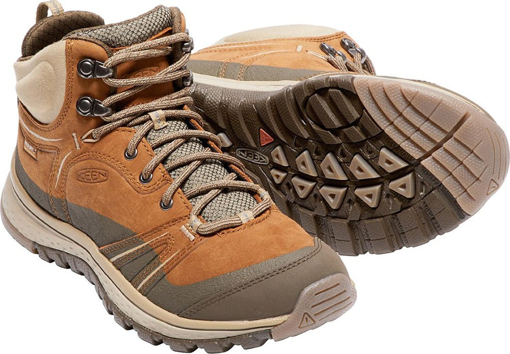 232b48799c Keen Terradora Leather Mid Wp W Timber Cornstalk 40 od 2 729 Kč ...