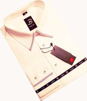 667ddaeb7d17 Brighton 110089 bílá L. Košile pánská s dvojitým límcem