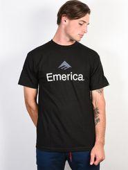 b676d0d297d pánské tričko Emerica Skateboard Logo černé