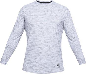 Under Armour Sportstyle Ls Tee bílé. Bílé pánské sportovní tričko s dlouhým  rukávem ... 2b809bd9107