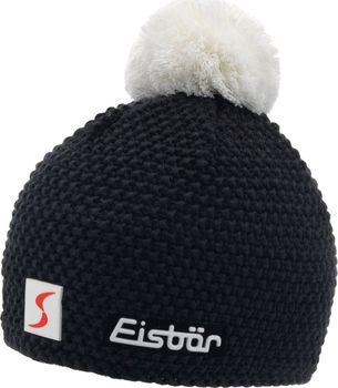 Eisbär Jamie Pompon MÜ SP černá bílá uni. Zimní pánská sportovní čepice ... 13075f06a5