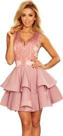 f95fdd43f7df dámské šaty Numoco 200-5 růžové