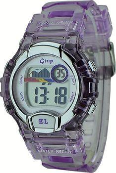 ✅Dětské sportovní hodinky GTUP 1090 fialové… 56e5c92e74