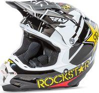 2ea45e8f897 helma na motorku Fly Racing F2 Rockstar černá bílá žlutá červená