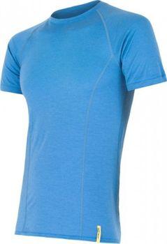 7021f3caf73 Sensor Merino Active pánské triko krátký rukáv modré L od 936 Kč ...