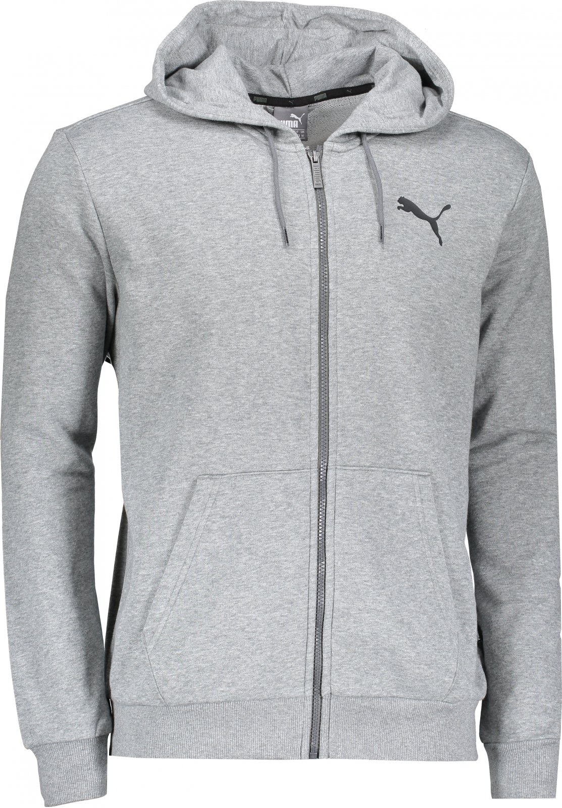 18492c4fc7bd PUMA ESS FZ Hoody TR 85176723 Medium Gray Heather XXL od 979 Kč ...