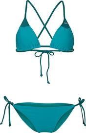 f524868a75 dámské plavky O Neill Essentials Triangle Bikini zelené S