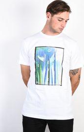 138c6915ff pánské tričko Quiksilver Quiver Central bílá