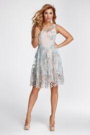 dámské šaty Gemini Marselini 1725 světle růžové 34 4e2910f37b9