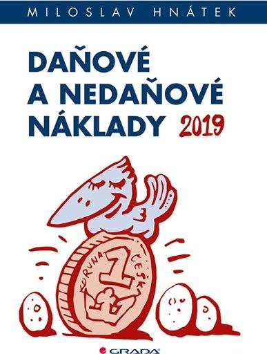 9e8184a51 Daňové a nedaňové náklady 2019 - Miloslav Hnátek od 276 Kč   Zboží.cz