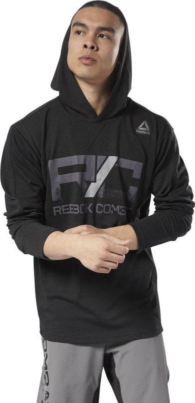 Reebok Combat Lightweight Hoodie černá od 1 099 Kč • Zboží.cz 6bb6516545