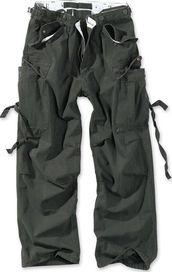 pánské kalhoty Surplus Vintage Fatigue černé f1ae8b9e77