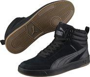 pánská zimní obuv PUMA Rebound Street SD Fur Black 3882b78e02