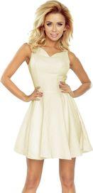 9ce10004378 dámské šaty Numoco 187-1 krémové