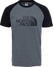pánské tričko The North Face Raglan Easy Tee Medium šedé 8af29491b8