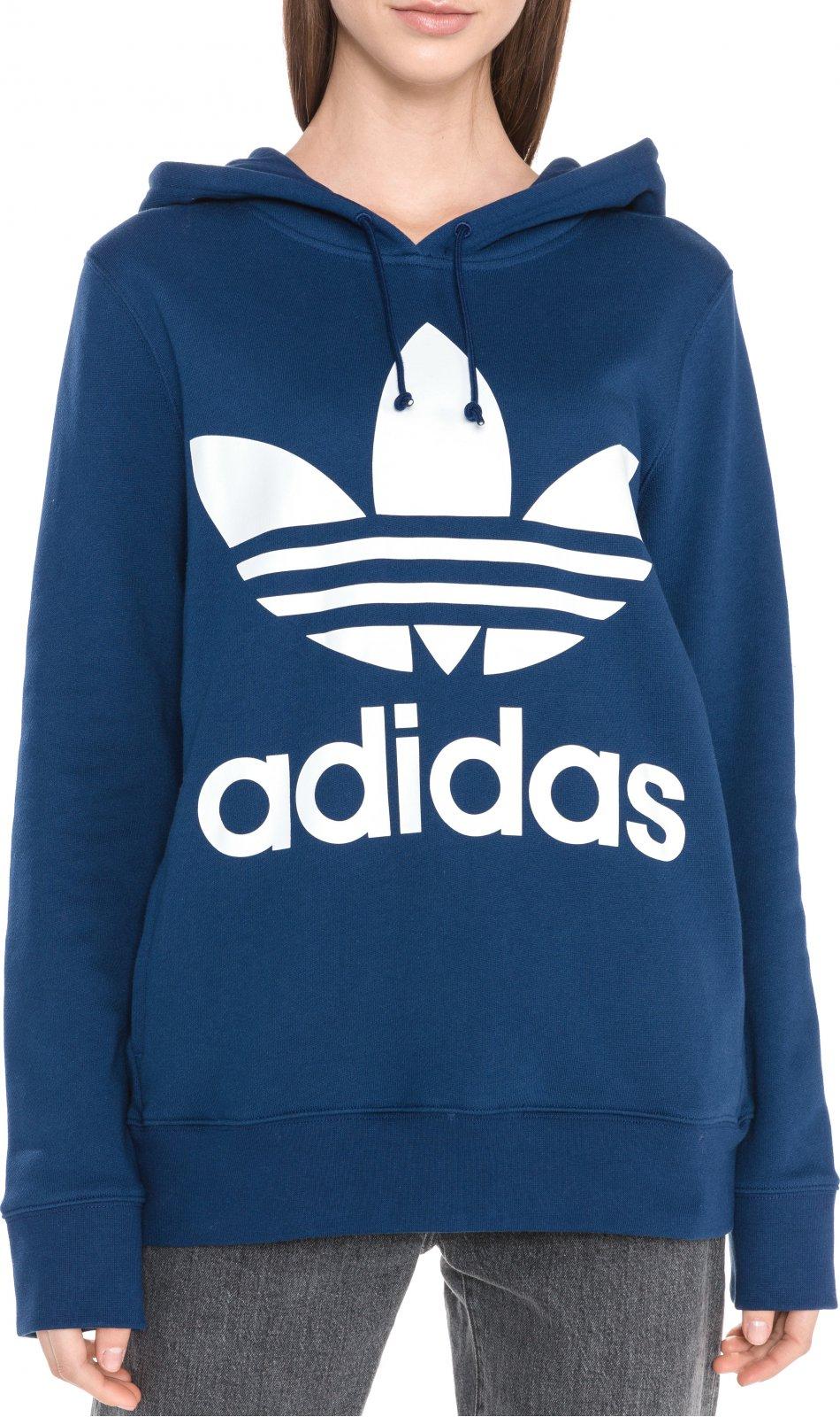 6cde67c1f0 Adidas Originals Trefoil Hoodie mikina dámská tmavě modrá od 1 259 ...
