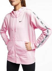 fcf7a139a dámská mikina NIKE Sportswear Full-Zip Logo Hoodie růžová