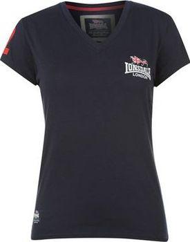 Dámské tmavě modré tričko Lonsdale Modrá… 4a27eb0ae53