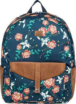 f39d32c9a0 Pastelový retro dámský batoh Roxy Carribean s celoplošným vzorem užiješ jak  do školy