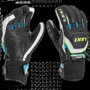 Leki Worldcup Race Coach Flex S GTX Black White Cyan Yellow 16 . Špičková  rukavice ... ad71080a99