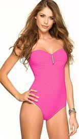 dámské plavky Phax Color Mix jednodílné Neon Pink a44589926a