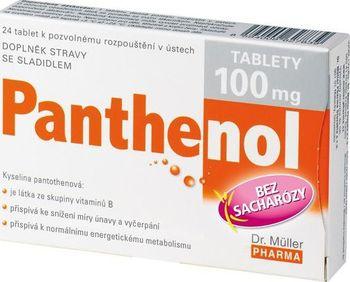 Dr. Müller Pharma Panthenol 100 mg tbl. 24 od 73 Kč • Zboží.cz 11c97e837e8
