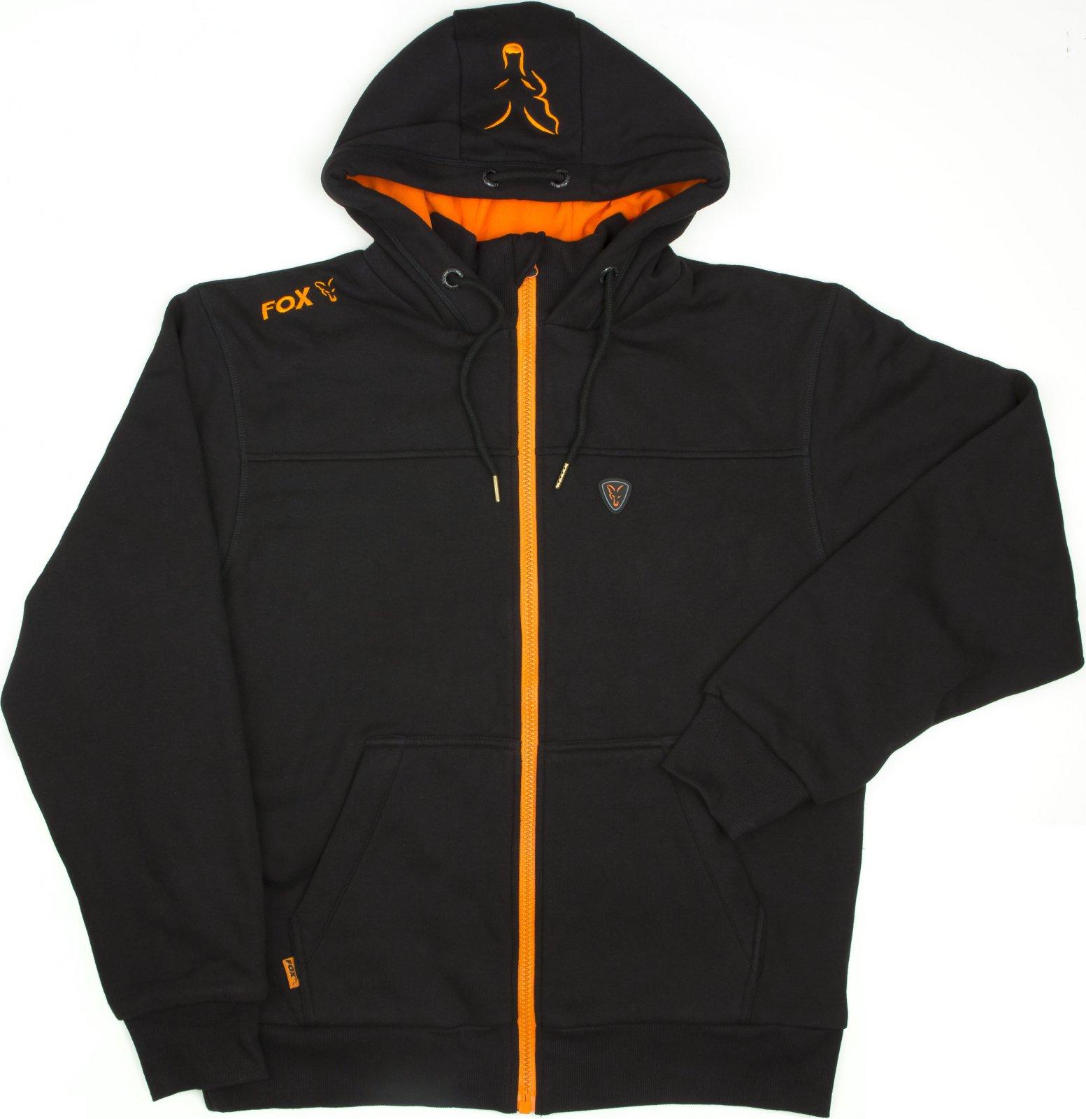 0c993fdeabc Fox Heavy Lined Hoody Black Orange od 1 359 Kč • Zboží.cz