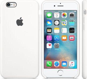Apple Silicone Case pro iPhone 6S bílé od 619 Kč • Zboží.cz 49628b58a31