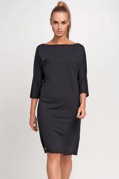 5fdda98563c6 Gemini Makadamia M236 černé. Stylové dámské šaty ...