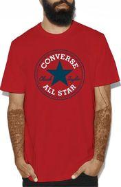 pánské tričko Converse Chuck Patch červené 8cfe2a85ce