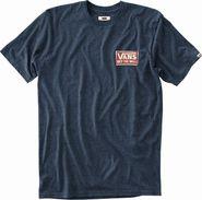 pánské tričko Vans Mn Shaping Triblend Navy Heather f3a2fd92a5c