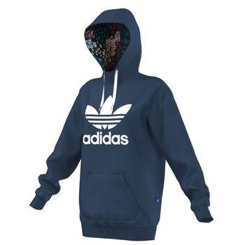 3abeb5eb4fc Adidas Long Hoodie AY8388 modrá XS • Zboží.cz