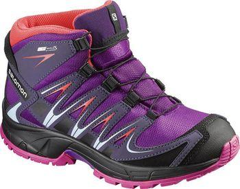 Salomon XA Pro 3D Mid CSWP K Passion purple nightsade. Dětská outdoorová  obuv ... ca98701788