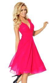75d5b407760 Růžové dámské koktejlové šaty • Zboží.cz