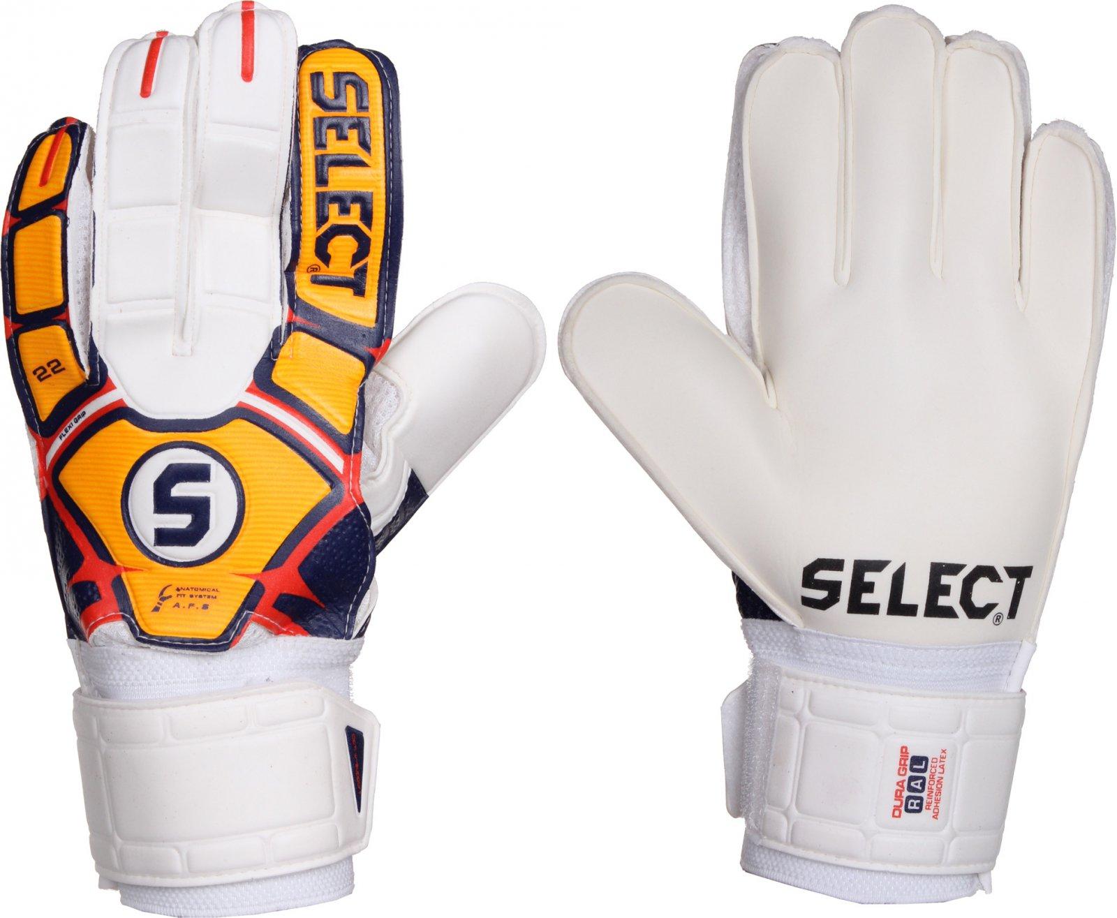 8f0c5b475 Select 22 Flexi Grip bílé/oranžové od 465 Kč | Zboží.cz