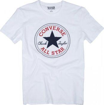 51c2fe3097e5 Converse AMT M19 CORE CP TEE bílá je klasické volnočasové tričko z kolekce  značky Converse a je vhodné pro nošení do města