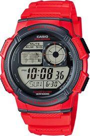 Červené hodinky Casio • Zboží.cz 15301a1d68e