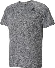 pánské tričko adidas D2M Tee Ht šedé f3368f1028