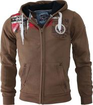 pánská mikina Geographical Norway Fespote Men 100 taupe d203184387b