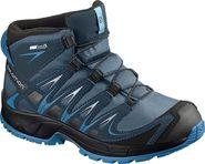dětská treková obuv Salomon XA Pro 3D Mid CSWP J Mallard Blue Reflecting  Pond  c05f9e0251
