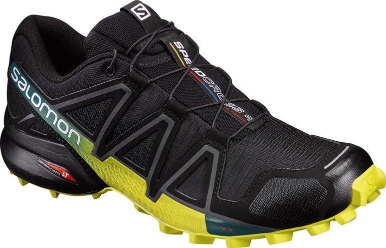 Salomon Speedcross 4 Black Everglade Sulphur Spring od 2 250 Kč • Zboží.cz dfec51389e