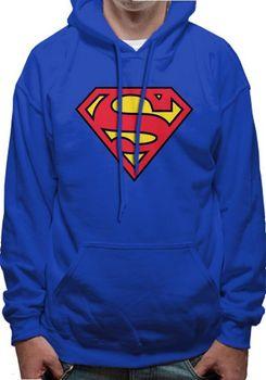 Superman pánská mikina s kapucí 33a2edbfda